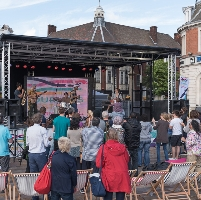 Live Music Stage at Jubilee Square
