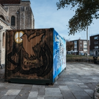 The Container Project - Live Graffiti at Portsmouth Cathedral
